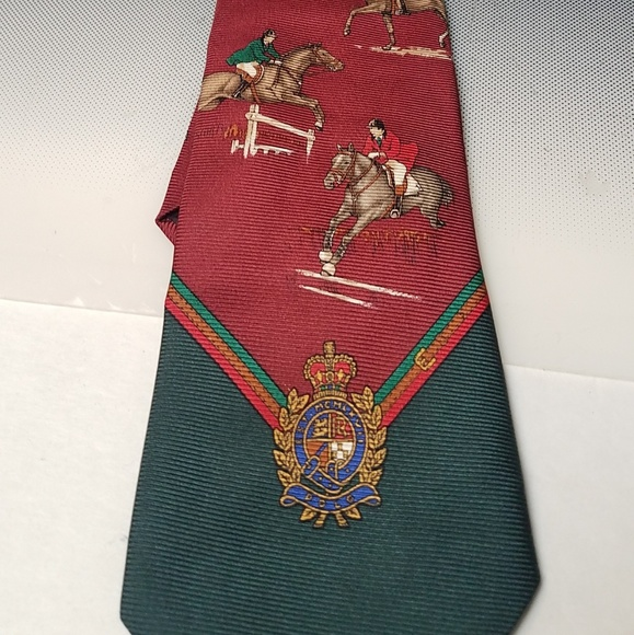 Polo by Ralph Lauren Other - Polo by Ralph lauren show jumping rider horse tie